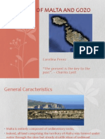 Geology of Malta and Gozo