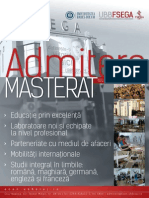 Programe Masterat 2014