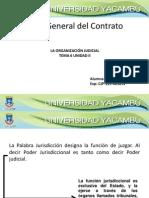 La Organizacion Judicial Instituciones Del Proceso Penal
