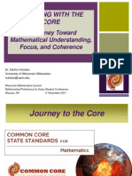 A Journey Toward Mathematical Understanding, Focus, and Coherence