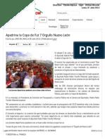 06-07-14 Apadrina la Copa de Fut 7 Orgullo Nuevo León
