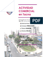 Actividad Comercial en Tacna