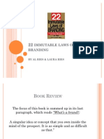 22 Immutables Laws of Branding