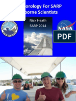 Meteorology For SARP Airborne Scientists - SARP 2014