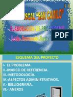 Modelo Elaboracion de Proyectos San Camilo