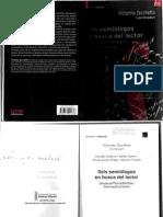 UNFV ANTROPOLOGIA Zecchetto, Victorino - Seis Semiologos en Busca Del Lector