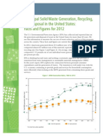 EPA Solid Waste Generation Report
