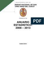 AnuarioEstadistico2008-2013