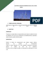 Generar Energia Electrica Atraves de Energia Eolica