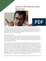 No Clear Direction to Develop Economy – Chmpika Ranawaka