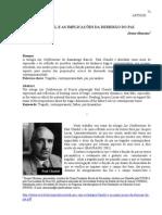 Claudel e as Implicacoes Da Derrisao Do Pai