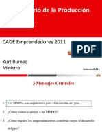 CADE Emprendedores 2011