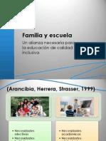 09.-La Relacion Familia y Escuela en La Educacion Inclusiva