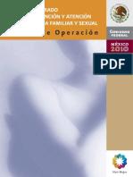 9 Modelo Integrado Para La Prevencion y Atencion de La Violencia Manual de Operacion