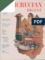 Rosicrucian Digest, April 1956