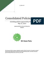 consolidated policies 2014 may31 2014