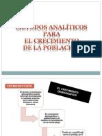 Metodos Analíticos de Crecimiento Poblacional Grup Chirinos