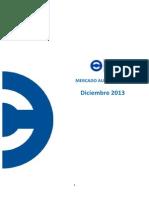 Mercado Automotor Diciembre 2013