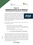 1. Modulo Administracion - CLASE 2