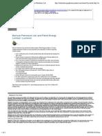 Macquarie Tristone - Current Mandates - Bernum Petroleum Ltd. and Petrel Energy Limited - Lochend accessed 4-Jul-14