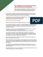 Windows Server 2012_Instalando Una Autoridad Certificadora Raíz