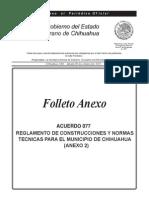 20131005 Reg. Construcc y Normas Tec. Chihuahua
