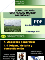 Manejo Agronomico Del Maiz
