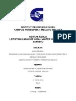 Kertas Kerja Indah Water 2014