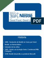 Nestlé. Origen e historia