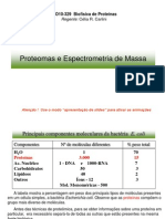 Aula on-line 5 proteoma e MS.ppt
