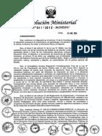 Resol Ministerial 041 2014 Minedu