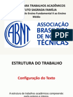 Normas Trabalho ABNT
