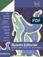 Boletin Editorial 32