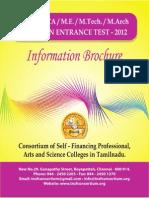 MBA Brochure 2012