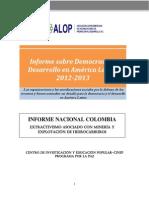 ALOP - Informe Sobre Democracia y Desarrollo en América Latina 2012-2013