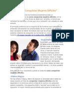 Como Conquistar Mujeres Dificiles PDF