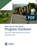 Public Assistance Pilot Program