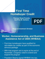 IRS Homebuyer Tax Credit