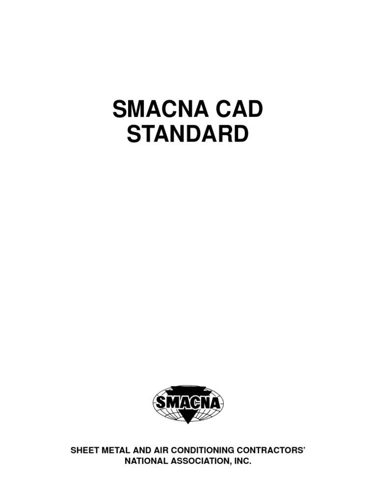 Smacna Cad Standard Duct Flow Hvac Drawing Symbols And Abbreviations