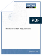 PDMS Minimum System Requirements Plant