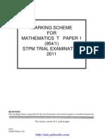 [Edu.joshuatly.com] Kedah SPM Trial 2011 Maths TS Paper 1 (w Ans)