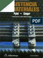Resistencia de Materiales - 4ta Edición - Andrew Pytel & Ferdinand L. Singer (Octava Reimpresión 2008)