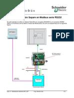 Comunicación Sepam en Modbus Serie RS232