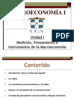 Unidad i Medicion Pensamiento e Instrumentos de La Macroeconomc3ada