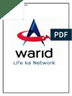 strategic marketing plan for Warid