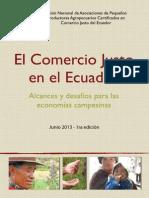 El Comercio Justo en el Ecuador - Alcances y desafios para las economias campesinas
