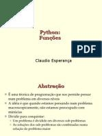 Programando Em Python - Funcoes