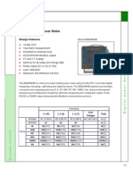 Manual Medidor de Panel Digital Dm2463ab