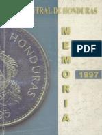 BANCO CENTRAL DE HONDURAS MEMORIA DE 1997.pdf