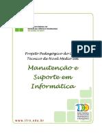 Tecnico Subsequente Em Manutencao e Suporte Em Informatica 2009